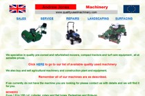 Andrew Jones Machinery website screenshot