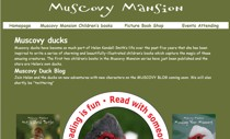 Muscovy Mansion website screenshot