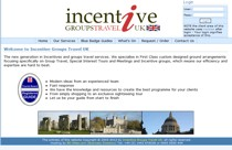 Incentive Groups Travels website screenshot