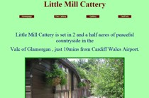 Little Mill Cattery website screenshot